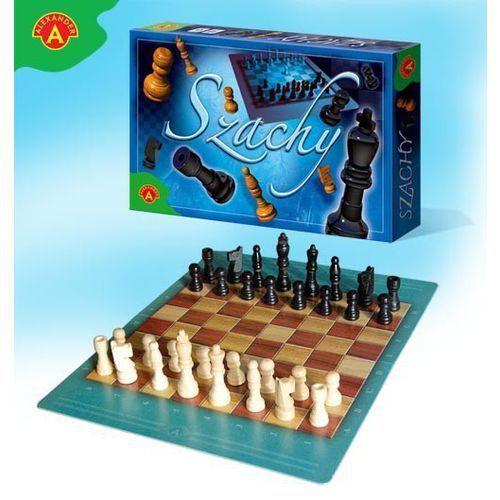 Gra szachy drewniane małe marki Alexander