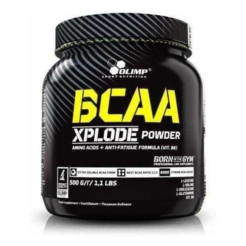 Olimp BCAA Xplode powder 500g truskawka (5901330044694)