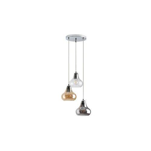 Rabalux Jezabel 7977 lampa wisząca zwis 3x60W E27 chrom / dymny, 7977