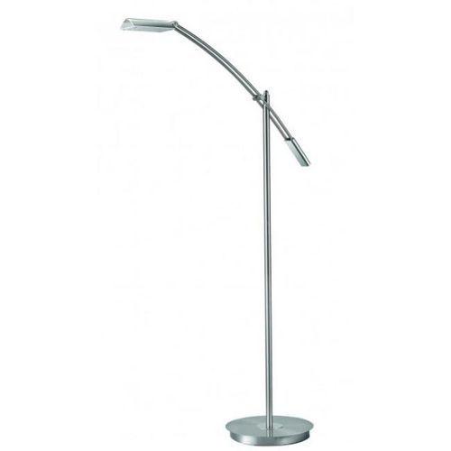 Sorpetaler Verona Flutlicht lampa stojąca LED Nikiel matowy, 1-punktowy - Nowoczesny - Obszar wewnętrzny - VERONA - Czas dostawy: od 2-3 tygodni