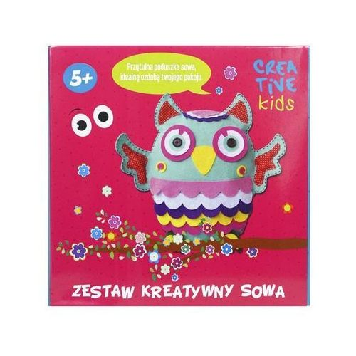 Incood Zestaw kreatywny - sowa 0083/0004 -