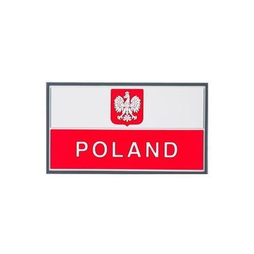 Emblemat Flaga PL z godłem (90 x 50 mm) Standard (OD-P29-RB-20), OD-P29-RB-20
