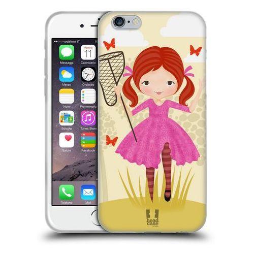 Head case Etui silikonowe na telefon - butterfly catcher violet