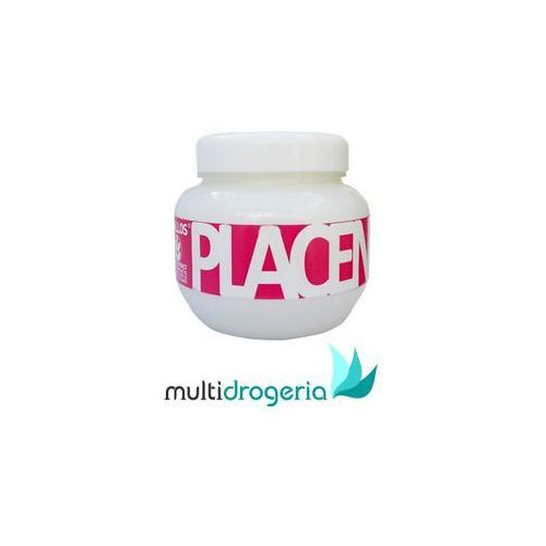 placenta maseczka do włosów suchych i zniszczonych (hair mask) 275 ml marki Kallos