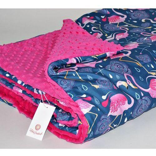 Kocyk / mata l - flamingi - 75x100 lolo picolo td-424/pm-20 marki Polskie pufy
