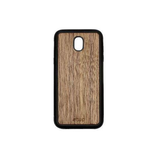 Samsung Galaxy J5 (2017) - etui na telefon Wood Case - orzech amerykański, ETSM555WOOD00O000