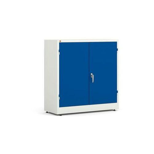 Array Szafa metalowa korpus: biały drzwi: niebieski