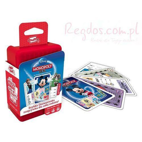 Cartamundi Karty shuffle monopoly deal disney (5411068022258)