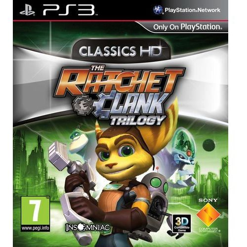 Ratchet & Clank Trylogia HD (PS3)