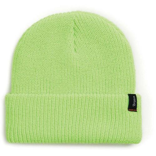 czapka zimowa BRIXTON - Heist Beanie Electric Green (ELGRN) rozmiar: OS, kolor zielony