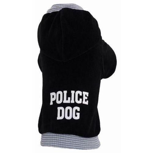 Grande finale  bluza b09 police dog czarna
