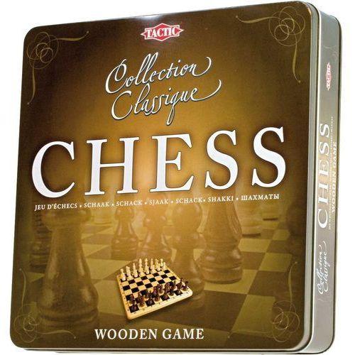 Tactic Gra szachy w metalowej puszce 14001 (6416739140018)