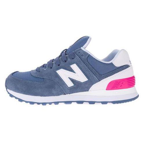 New Balance 574 Tenisówki Niebieski Różowy Biały 37