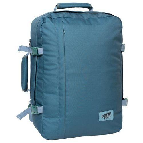 CabinZero Classic 44L torba podróżna podręczna / kabinowa / plecak / niebieski - Aruba Blue, kolor niebieski