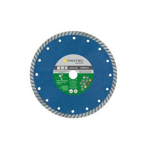 Trotec Diamentowa tarcza tnąca ad 230 db z krawędzią turbo (4052138016343)
