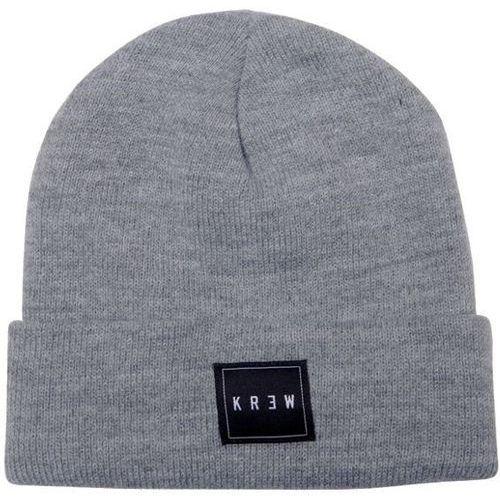 czapka zimowa KREW - Jersey Grey/Heather (GHT) rozmiar: OS, kolor szary