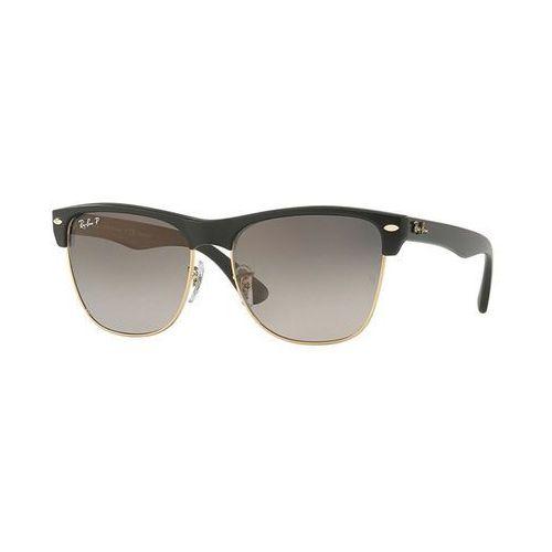 Rayban clubmaster okulary przeciwsłoneczne black grey gradient marki Ray-ban