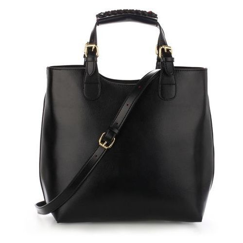 Torebka damska Shopper Bag Hit! czarna - czarny, kolor czarny