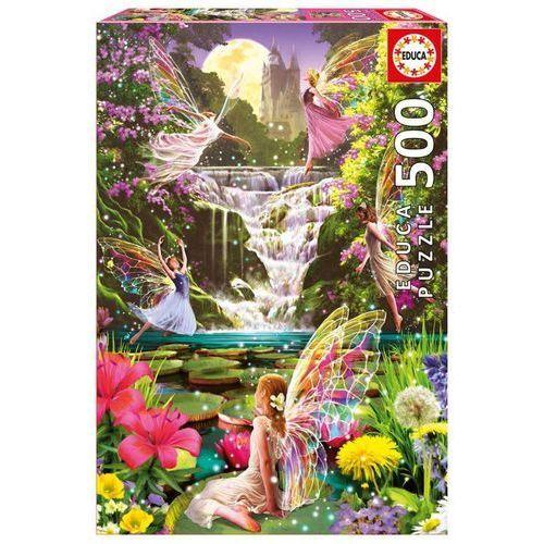 Puzzle 500 elementów Wodospad Wróżek - DARMOWA DOSTAWA OD 199 ZŁ!!!, 1_520227