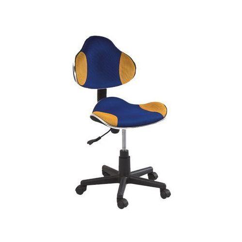 Fotel Q-G2 Niebieski Żółty