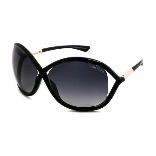 Okulary słoneczne ft0009 whitney polarized 01d marki Tom ford