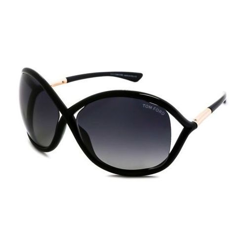 Tom ford Okulary słoneczne ft0009 whitney polarized 01d