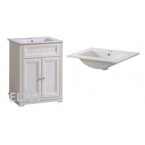 Comad szafka palace andersen white + umywalka 60 palacewhite820+cfp60d