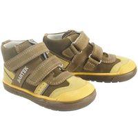 81859 v04 khaki żółty, obuwie profilaktyczne dziecięce, rozmiary: 19-26 - zielony marki Bartek
