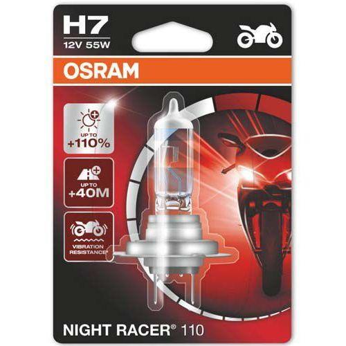 Osram® Żarówka do motocykla h7 night racer® 110 | blister 1 szt. nowa edycja