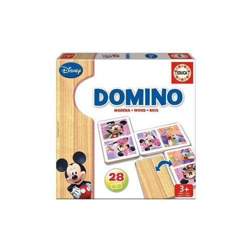 Domino drewniane, mickey i minnie marki Educa