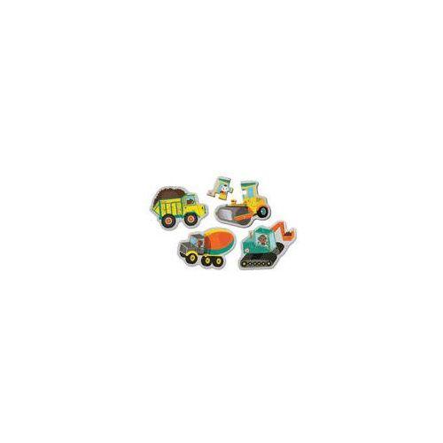 Puzzle sensoryczne Mudpuppy (pojazdy na budowie)