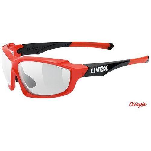 Okulary UVEX Sportstyle 710 variomatic czerwono-czarny 2016