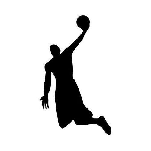 Szablon malarski, wielorazowy, wzór sport 14 - Slam Dunk