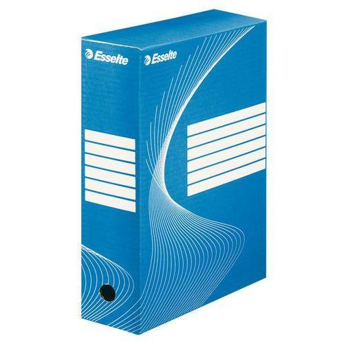 Pudło archiwizacyjne standard 100mm. niebieskie marki Esselte