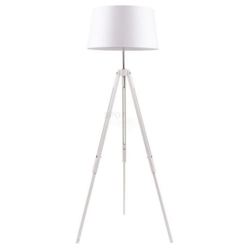 Lampa podłogowa SPOT Light TRIPOD biała do salonu, 6021002