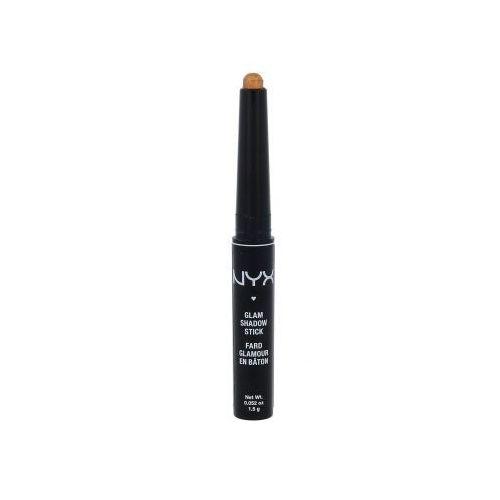 NYX Professional Makeup Glam Shadow Stick cienie do powiek 1,5 g dla kobiet 14 Divine Amber