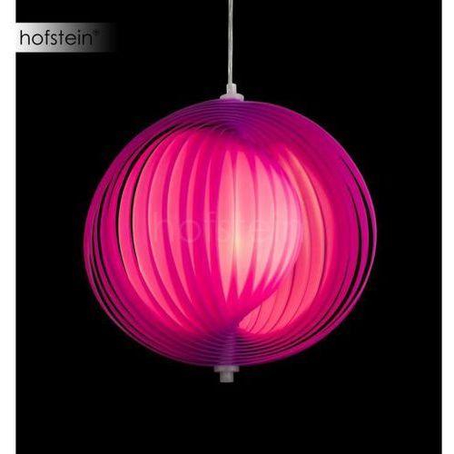 Globo lighting Globo lampa wisząca led chrom, fioletowy, 1-punktowy - - obszar wewnętrzny - i - czas dostawy: od 6-10 dni roboczych