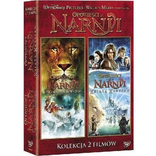 Opowieści z Narnii - Lew, Czarownica i stara szafa / Książę Kaspian (DVD) - Andrew Adamson DARMOWA DOSTAWA KIOSK RUCHU (7321917502863)