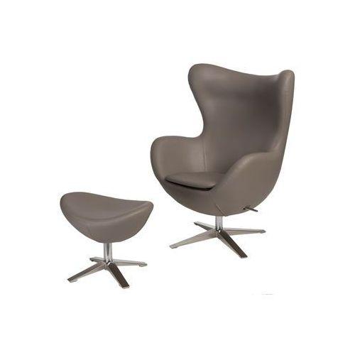 Fotel Jajo Soft z podn. sk. eko 533 khaki, D2-8490