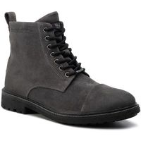 Trapery PEPE JEANS - Porter Boot Suede PMS50180 Dark Grey 975