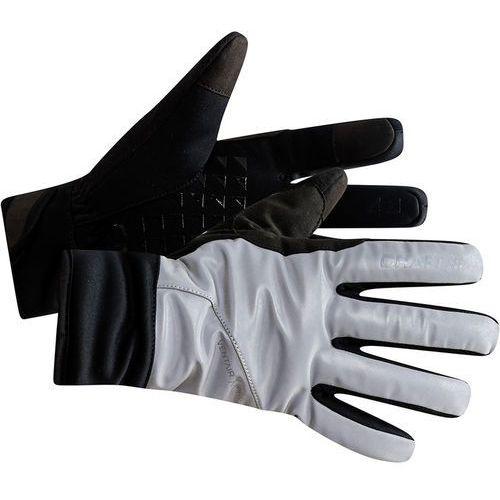 Craft siberian glow rękawiczki, silver/black xxl 2019 rękawiczki zimowe (7318572965249)