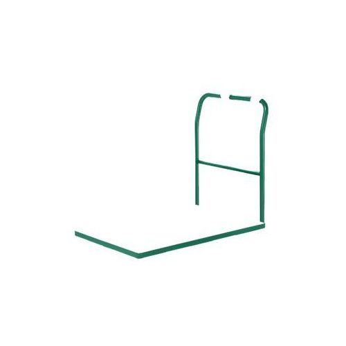 Wózek platformowy, pałąk rurowy, ogumienie z poliamidu, dł. x szer. 1050x700 mm,