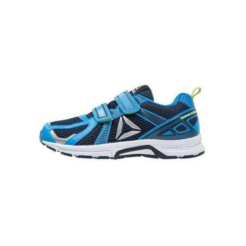 Reebok RUNNER Obuwie do biegania treningowe blue/navy/silver/kiwi (4057287361191)