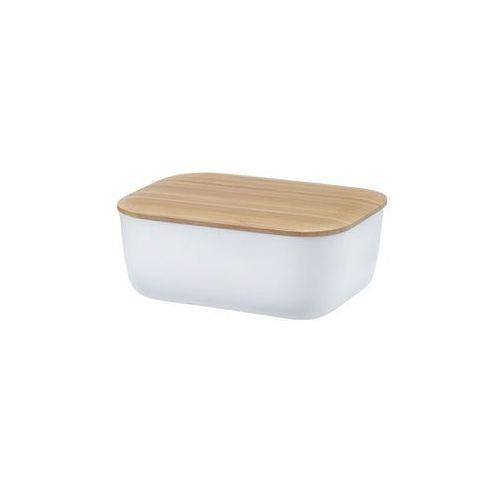 Rig-tig Maselniczka z pokrywką box-it, biała - (5709846018624)