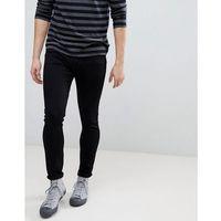 Mango Man Skinny Jeans In Black - Black