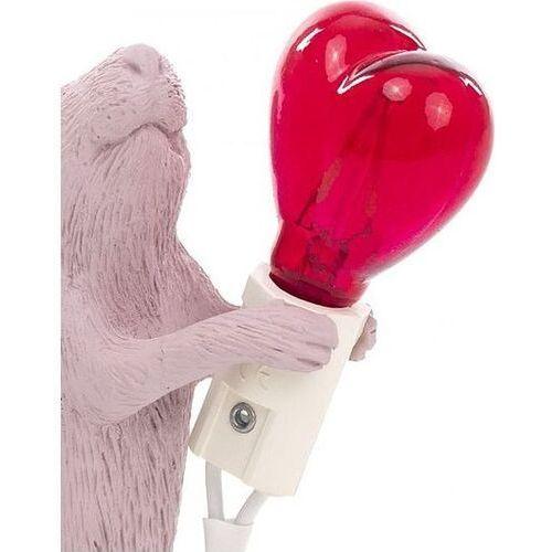 Żarówka led do lampy mouse serce czerwone marki Seletti