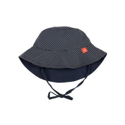 Lässig girls splash & fun kapelusz dwustronny uv 50+ blue (4042183354453)