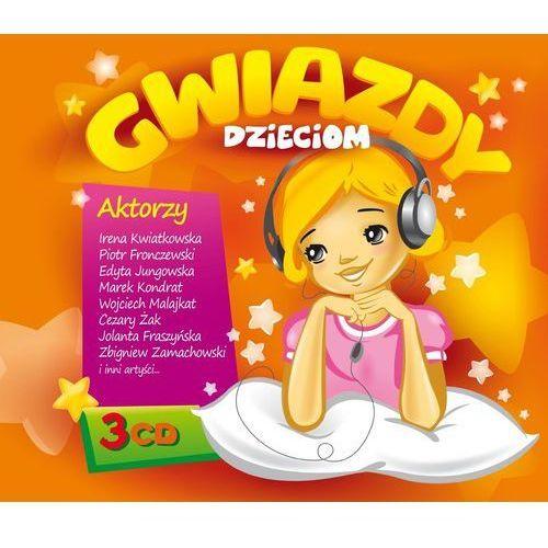 Agencja artystyczna mtj Gwiazdy dzieciom 1 - gwiazdy dzieciom (płyta cd)