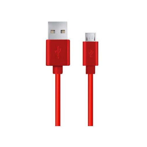 ESPERANZA KABEL MICRO USB 2.0 A-B M/M 1.0M EB143R CZERWONY, 58AC-65887