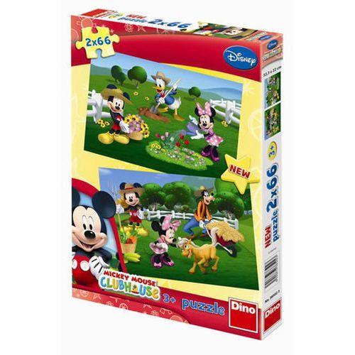 Mickeyho klubík - puzzle 2 motivy v bale marki Neuveden